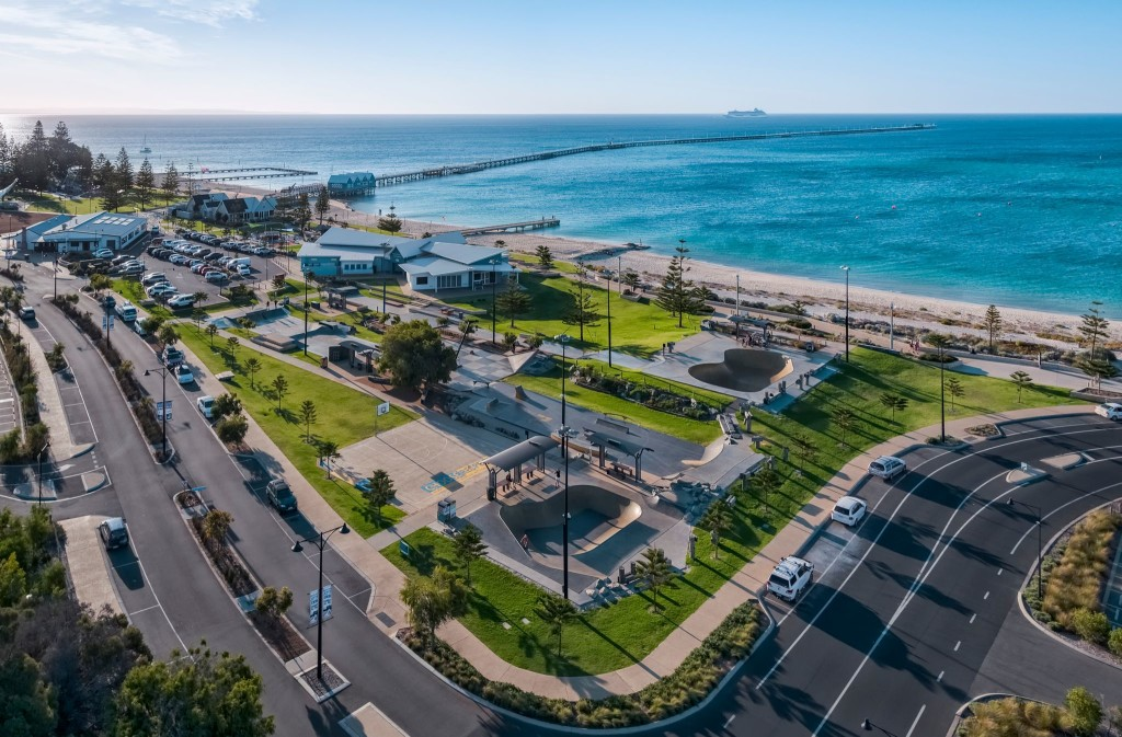 Busselton Foreshore Youth Precinct & Skate Park