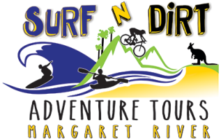 Surf N' Dirt Adventure Tours logo