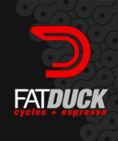 Fat Duck Cycles and Espresso Bar logo