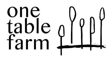 One Table Farm Cooking School & Sustainable Farm logo