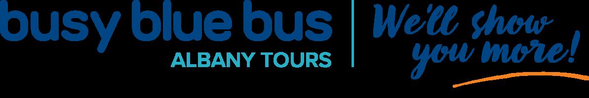 Busy Blue Bus Tours logo