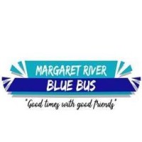 Margaret River Blue Bus logo
