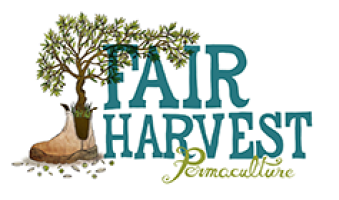 Fair Harvest Permaculture Campground logo
