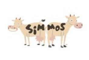 Simmo's Ice Creamery logo