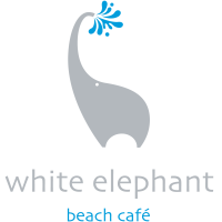 The White Elephant Beach Cafe logo